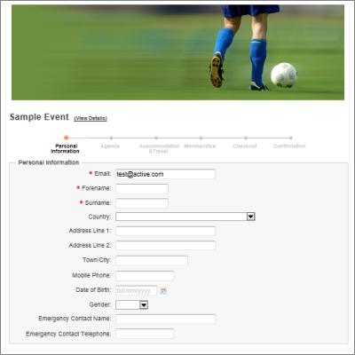 online registration form template – Registration Form Template Word