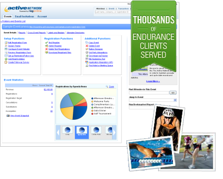 Triathlon Management Software